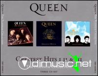 Queen - Greatest Hits I-II-III- Platinum Collection-3CD-2002