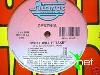 Cynthia - What Will It Take [12'' Vinyl 1991]