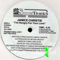Janice Christie - I'm Hungry For Your Love [12'' Vinyl 1986]