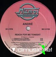 Andre - Reach For Me Tonight [12'' Vinyl 1989]