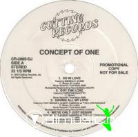 Concept Of One - Concept Of One [12'' Vinyl 1993]