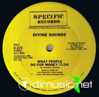 Divine Sounds - What People Do For Money [12'' Vinyl 1984]