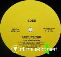 Edee - Baby It's You [12'' Vinyl High Power Records 1988]