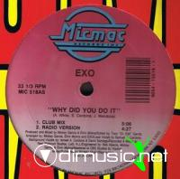Exo - Why Did You Do It 12'' Vinyl