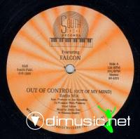 Falcon - Out Of Control [Out Of My Mind] [12'' Vinyl 1989]