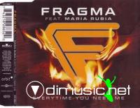 Fragma Feat.Maria Rubia - Everytime You Need Me [Maxi Single 2001]