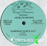Jocelyn Brown & Frederick M.C. Count Linton - Somebody Else's Guy [12'' Vinyl 1984]