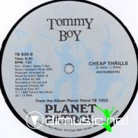 Planet Patrol - Cheap Thrills [12'' Vinyl Tommy Boy 1983]