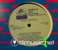 Spirit Matter - Crimes Of Passion [12'' Vinyl 1987]