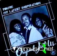 ORIGINAL JUST US - you're my latest inspiration 1983