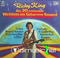 Ricky King - Die 20 Sch?¶nsten Welthits Im Gitarrensound - 1978