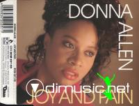 Donna Allen - Joy And Pain - Single 7'' - 1988
