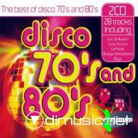 The Best Of Disco 70's and 80's (2 cd s)