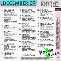 VA – Promo Only Rhythm Radio December 2009