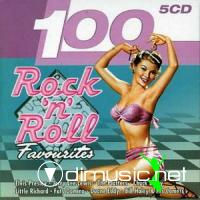 VA - 100 Rock 'N' Roll Favourites (5 CDs)