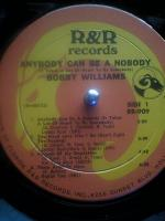 BOBBY WILLIAMS - Anybody Can Be A Nobody (1976)