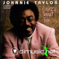Johnnie Taylor - Crazy 'bout You (Vinyl, LP, Album) (1989)