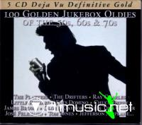 100 Golden Jukebox Oldies - 50-60-70s [5 CD]