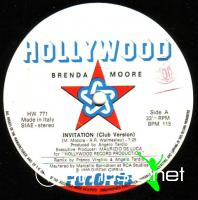 Brenda Moore -  Invitation - Single 12'' - 1986