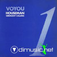 Voyou - Houseman - Germany Calling - Single 12'' - 1987