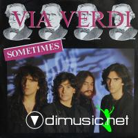 Via Verdi - Sometimes - Single 12'' - 1986