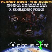 Afrika Bambaata & Soul Sonic Force - Planet Rock: The Album - 1986