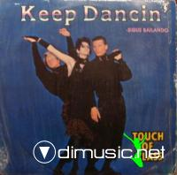 Touch Of Class - Keep Dancin' - Single 12'' - 1985