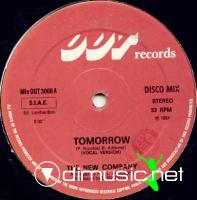 The New Company - Tomorrow - Single 12 - 1984