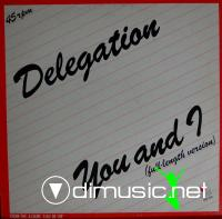 Delegation-You and I - Single 12'' - 1980