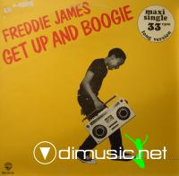 Freddie James  - Get Up And Boogie - Single 12'' - 1979