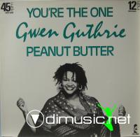 Gwen Guthrie  - Peanut Butter - Single 12'' - 1983