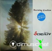 Sensitiv - Burning Emotion - Single 12'' - 1985