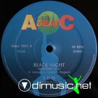 Edo - Black Night - Single 12'' - 1991