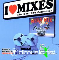 Various - I Love Mixes Vol.2 ''Fonny De Wulf Megamix'' 1988