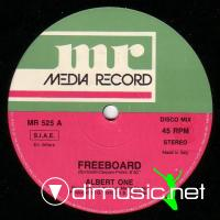 Albert One - Freeboard -  Single 12'' - 1988