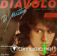 Cover Album of Di Matteo - Diavolo (Vinyl,12) 1985