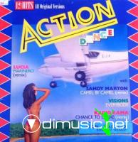 Cover Album of V.A - Action Dance Mix (Vinyl, 12, 33 RPM, - 1987)