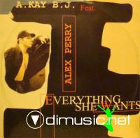 A Kay BJ Feat. Alex Perry - Everything She Wants - Single 12'' - 1996