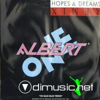 Albert One -  Albert One - Hopes And Dreams (Remix) - Single 12'' - 1987