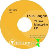 Cover Album of Louis Langone – Yellow Mandarine EP