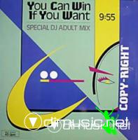 Copy-Right - You Can Win If You Want - Single 12'' - 1985