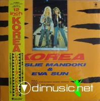 Leslie Mandoki & Eva Sun - Korea - Single 12'' - 1988