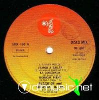 Black 28 & Tropical Radio - Vamos A Bailar  - Single 12'' - 1984