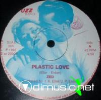 Cover Album of Zed - Plastic Love - Single 12'' - 1983