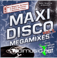 Cover Album of Maxi Disco Vol.1 Megamixes [lossless]
