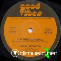 4 M International - Space Operator - Single 12'' - 1982