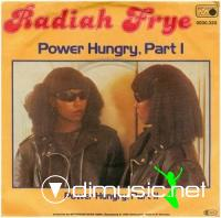 Radiah Frye - Power Hungry (Vinyl, 12'') 1980