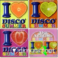 Various - I Love Disco Summer 1,2,3