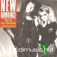 New Romance - You're My First Love (Head Over Heels) (7'')1987