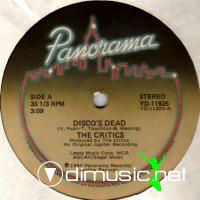 The Critics - Disco's Dead 1980
